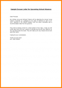welcome letter template excuses letter for school sample excuse letter for upcoming school absence