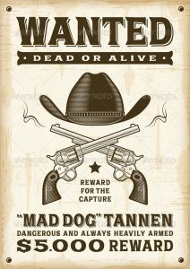 western wanted poster vector eps western wanted poster
