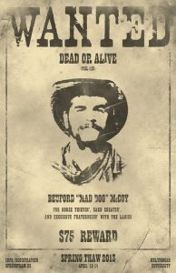 western wanted poster wanted poster