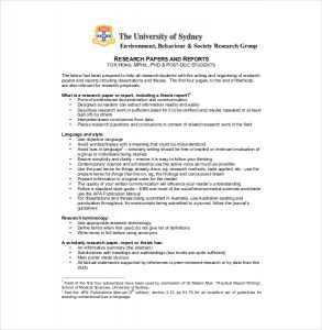 white paper outline free research paper report outline template pdf