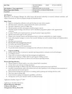 white paper outline job description outline sample