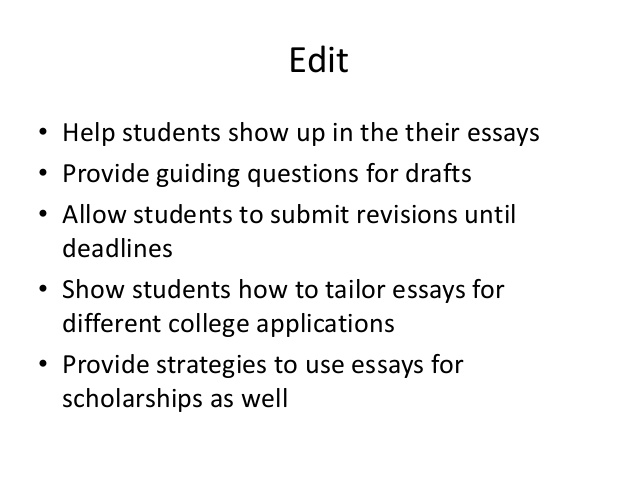 Help writing college scholarship essays