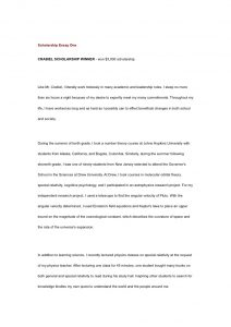 why should you receive this scholarship essay examples scholarship essay one