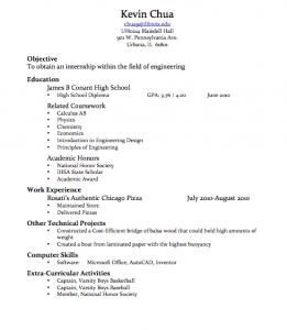 will writing template resume draft