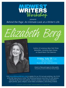 word flyer template elizabeth berg poster