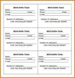 word flyer template raffle ticket templates bkhs raffle ticket template