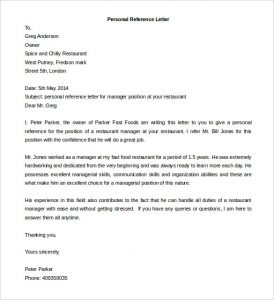 word letter template editable personal reference letter template ms word