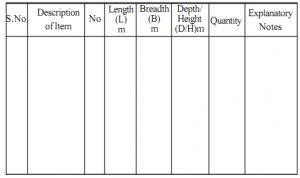 work estimate template clip image
