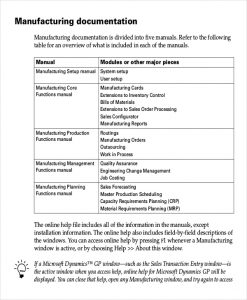 work instruction template manufacturing work instruction template