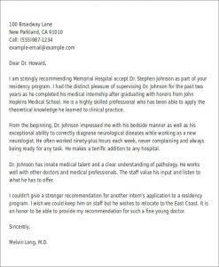 work recommendation letter letter of recommendation for internship format