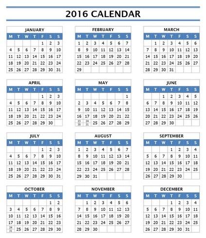 workout calendar free