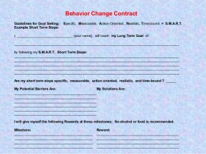 workout journal template behavior change contract set yourself up for success