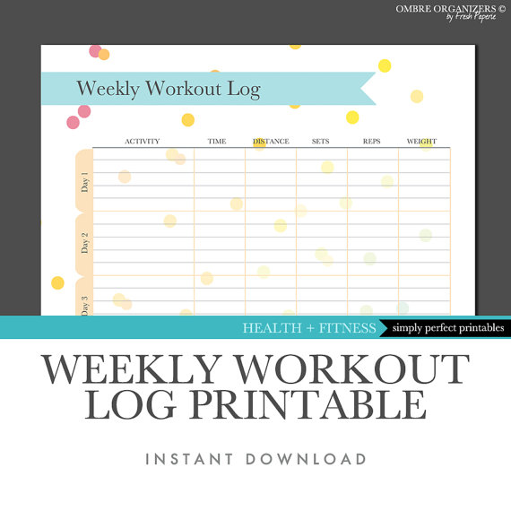 workout journal template