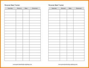 workout log excel workout tracking sheet bdbbdfd
