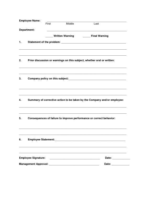 write up form