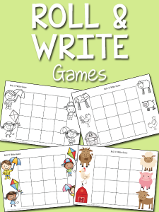 writing a letter of intrest roll write game