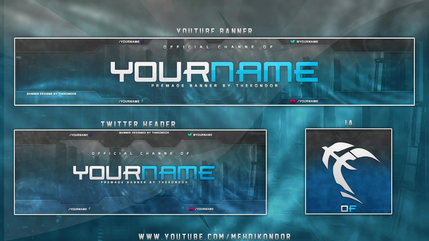 youtube banner template download