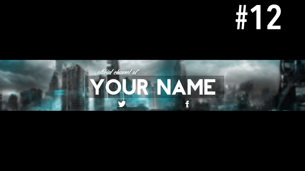 Youtube Banner Template Psd | Template Business