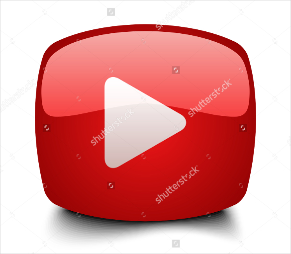 youtube icon template